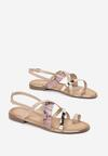 Różowe Sandały Marimere
