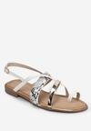 Białe Sandały Marimere