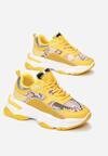 Żółte Sneakersy Sabriphine
