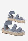 Niebieskie Sandały Asteronis