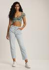 Jasnoniebieskie Jeansy Mom Fit Shelure