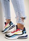 Biało-Czerwone Sneakersy Clareino