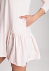 Jasnoróżowa Sukienka Calydora