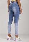 Niebieskie Jeansy Skinny Daphinohre