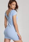 Niebieska Sukienka Myscia