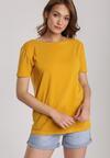 Żółty T-shirt Jelissa