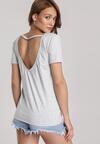 Jasnoszary T-shirt Jelissa