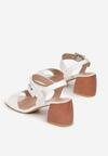 Białe Sandały Aquimara