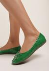 Zielone Balerinki Jenylora