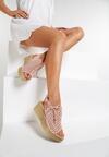 Różowe Sandały Diorena