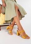 Żółte Sandały Kyshell