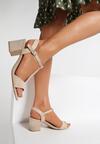 Beżowe Sandały Shelea