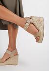 Beżowe Sandały Pherolopei