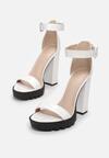 Białe Sandały Oceaxie