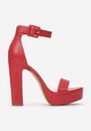 Czerwone Sandały Arrielyn