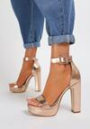 Szampańskie Sandały Arrielyn