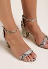 Beżowe Sandały Saphadora