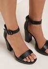 Czarne Sandały Kaliria
