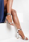 Srebrne Sandały Sheimare