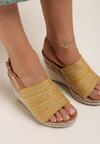 Żółte Sandały Aqiafer