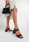Czarne Sandały Brirah