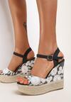 Czarne Sandały Phalilacia