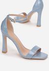 Niebieskie Sandały Physathusa