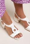Białe Sandały Raeviane
