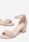 Beżowe Sandały Euphephonos