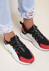 Czarne Sneakersy Aegadah