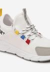 Biało-Szare Sneakersy Aegadah