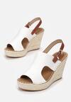 Białe Sandały Arasea