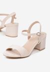 Beżowe Sandały Acarianne
