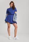 Ciemnoniebieska Sukienka Doviane
