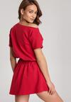 Czerwona Sukienka Doviane