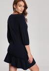 Granatowa Sukienka Mererien