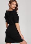 Czarna Sukienka Aquaneh