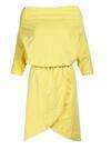 Jasnożółta Sukienka Aquaneh
