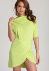 Limonkowa Sukienka Aquaneh