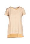 Jasnobeżowy T-shirt Lorerene