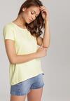 Jasnożółty T-shirt Lorerene