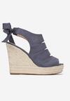 Niebieskie Sandały Elassia
