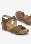 Zielone Sandały Allunah
