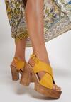 Żółte Sandały Nephemeia