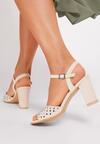 Beżowe Sandały Morgawai