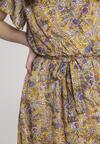 Żółta Sukienka Marytune