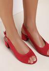 Czerwone Sandały Dorealena