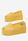 Żółte Espadryle Amalinassa