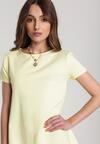 Żółta Sukienka Eiremere