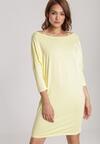 Żółta Sukienka Dorinoire